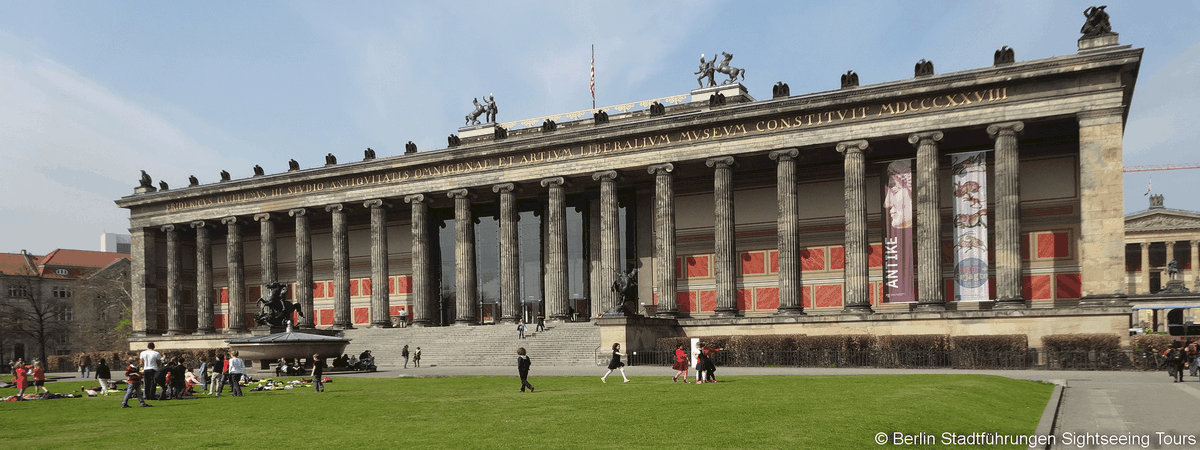 Altes Museum Berlin City Tour