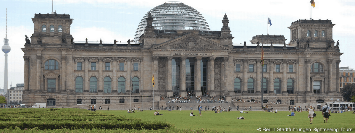 Reichstag Bundestag Berlin City Tour