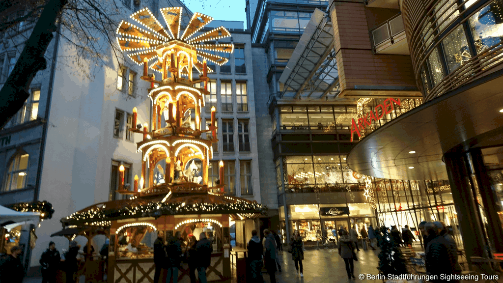 Weihnachten 2019 Berlin.Berlin Lichterfahrt