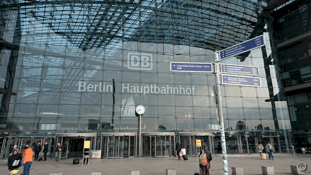 Berlin Tour starting at Hauptbahnhof Central Train Station