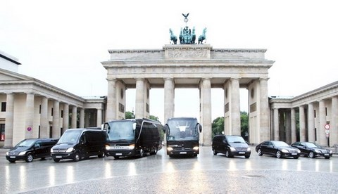 Berlin tour bus coach minivan limousine